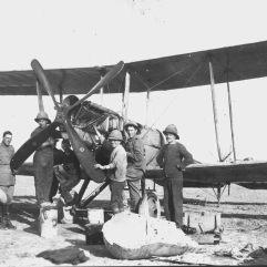 الطائرة المستخدمة في الحرب العالمية الاولي