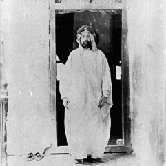 Ahmad Pasha San'ah [Arab man standing in doorway