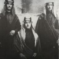 ثلاثة من ابناء الامير خزعل بن جابر