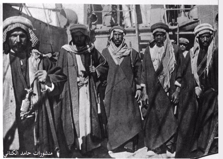الحرس الخزعلي الذي كان برفقة الشيخ خزعل-1916-الاحواز